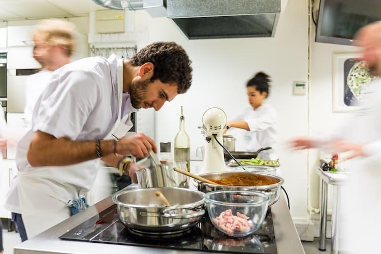Cook's certificate cookery course in London