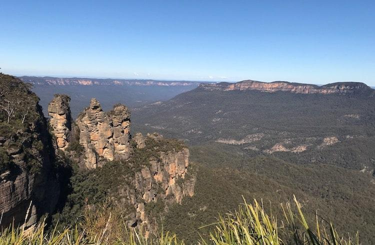 Three Sisters Viewpoint on Gold Coast to Sydney Road-Trip