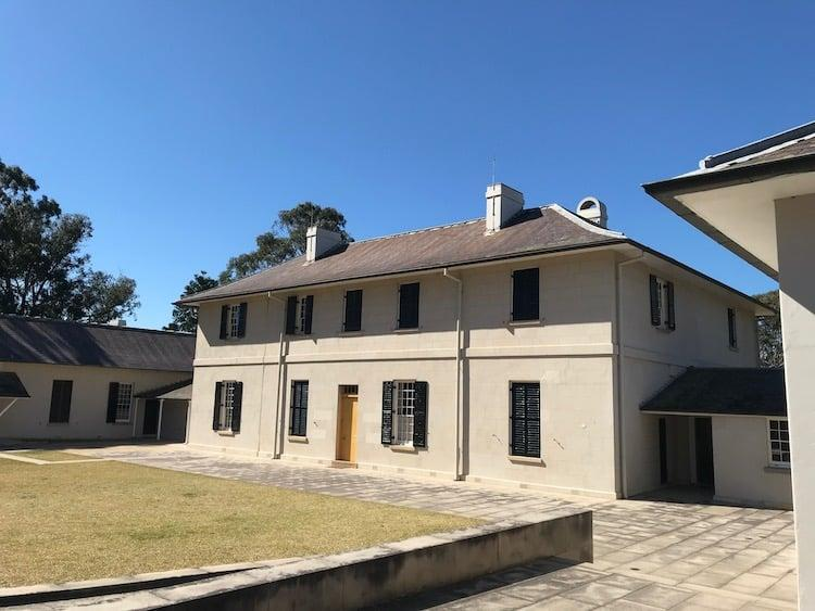 Old Government House a UNESCO Heritage listed site in Parramatta Park in Sydney