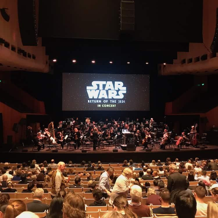 Star Wars at the Sydney Opera House