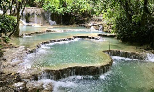 Turquoise at Kuang Si Waterfall