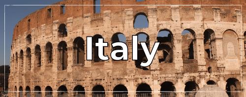 Italy Clickable
