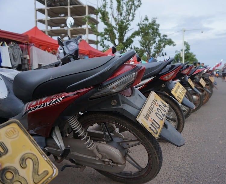 Hiring A Motorbike In Thakhek