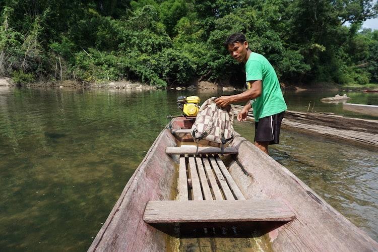 Longtail Boat Trip Laos