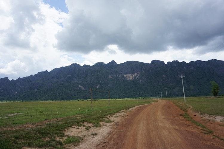 Near Cool Springs Thakhek Loop