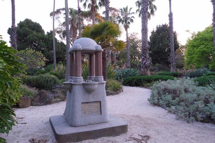 Williamstown Botanic Gardens Drinking Fountain