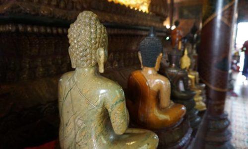 Buddhas In Phnom Penh Cambodia
