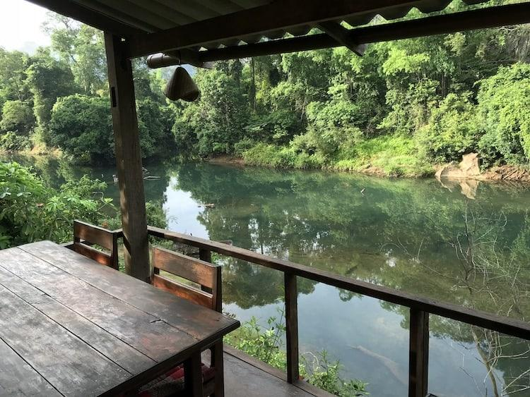 View From The Restaurant At Springriver Resort
