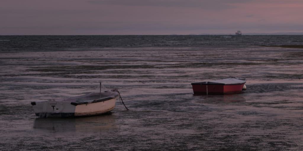 Boats At Altona Beach