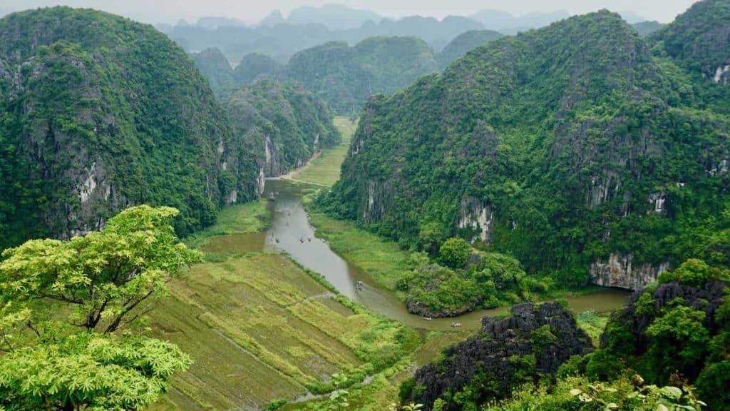 Ninh Binh Province Northern Vietnam