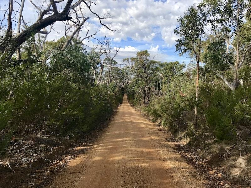 Red Sand Australian Roads