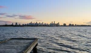 Sandridge Lookout In Port Melbourne