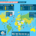 most expensive countries to rent an airbnb map only the sabbatical guide