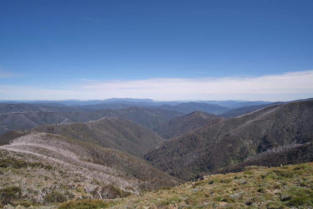 view from dannys lookout