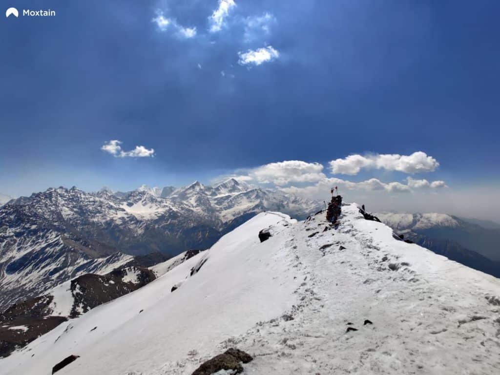 view from pangarchulla peak