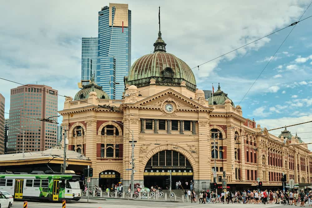 flinders street station what is melbourne known for
