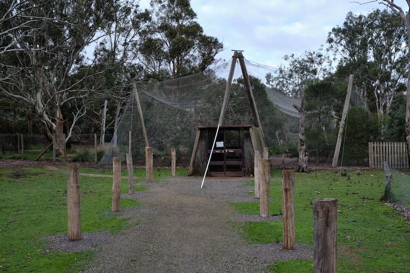enclosures at serendip sanctuary