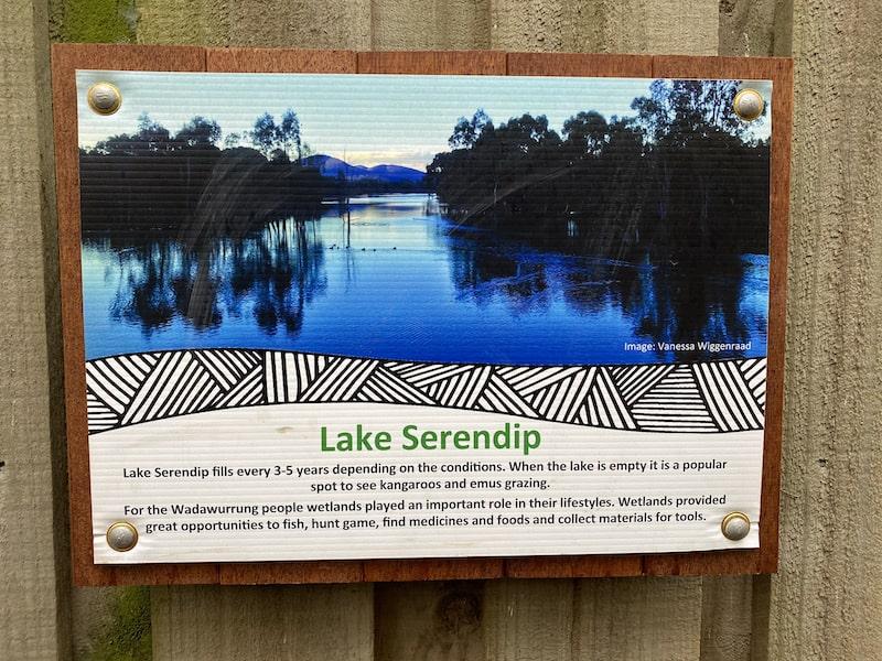 lake serendip
