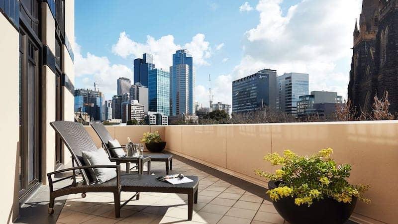 park hyatt balcong melbourne