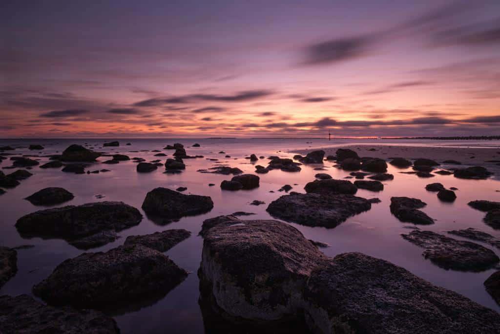 altona beach sunset